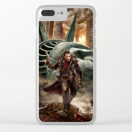 Radioactive Evolution by Dusan Markovic Clear iPhone Case