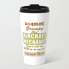 Aircraft Mechanics Travel Mug