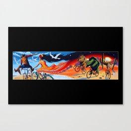 Epic Ride Canvas Print