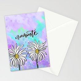 Namaste Daisies Stationery Cards