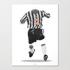 Newcastle United 1997-1998-1999 Canvas Print