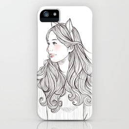 sweet babe *GirlsCollection* iPhone Case