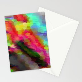 Striped Crystal Stationery Cards