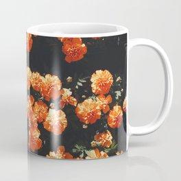 Orange Flowers Everywhere Coffee Mug