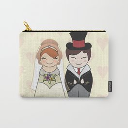 Kokeshis Just married Carry-All Pouch