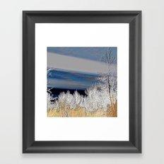 Country Evening Landscape | Nadia Bonello Framed Art Print