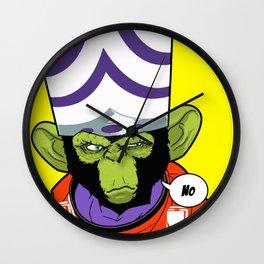 Mojojojo - planet of the apes Wall Clock