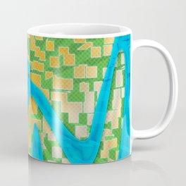 Neon Extrusion II Coffee Mug