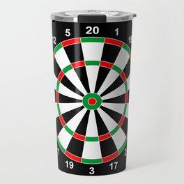 darts game board classic target  Travel Mug
