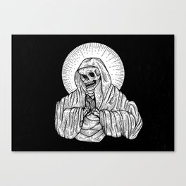 praying for death Canvas Print