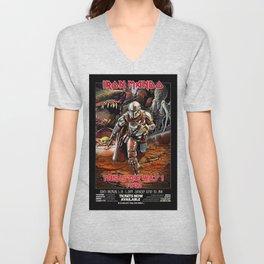 Iron Mando Tour vintage poster Unisex V-Neck