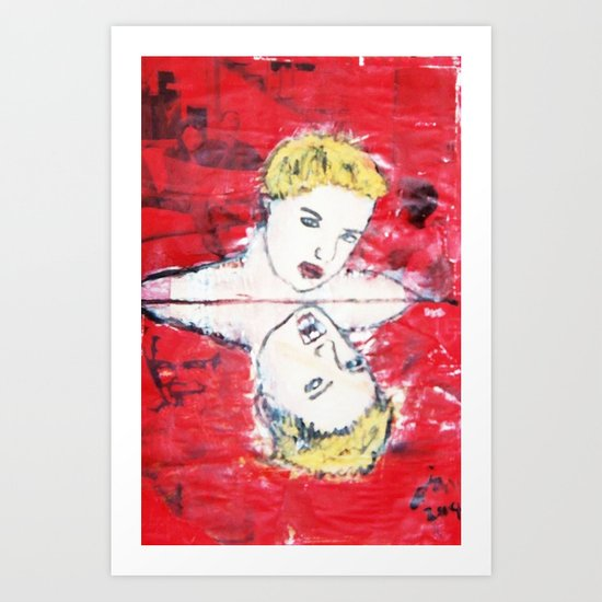 VAMPIRIC REFLECTIONS Art Print