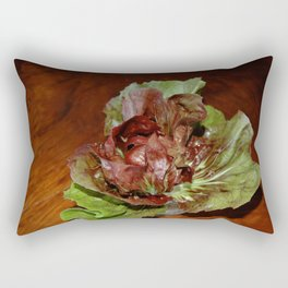 The Birthday Lettuce Rectangular Pillow
