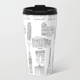 Europe at a glance Travel Mug
