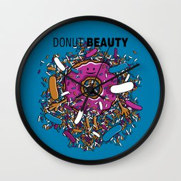 Donut Beauty Wall Clock