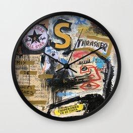 Chipirones En Su Tinta Wall Clock