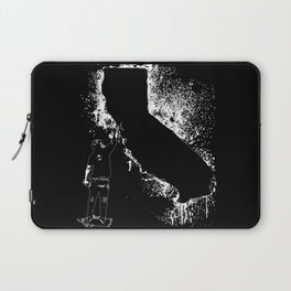 Cali wal tagger white Outline Laptop Sleeve