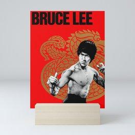 Kung Fu Dragon - Vintage Poster Mini Art Print