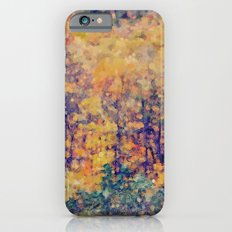 Autumn Woods Abstract -- Colorful Foliage Slim Case iPhone 6s