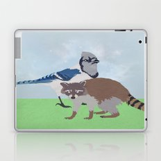 Mordecai and Rigby Laptop & iPad Skin