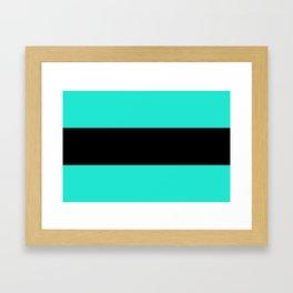 Flag of Amsterdam Framed Art Print