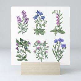 Garden of Beauty and Wisdom Mini Art Print