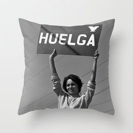 Chicana Activist Hall of Fame Throw Pillow