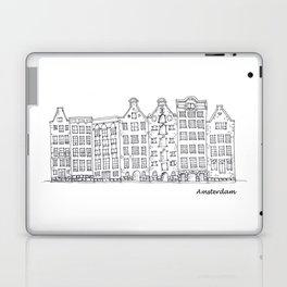 Amsterdam Streetscape Laptop & iPad Skin