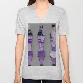 Lavish Lavender Unisex V-Neck