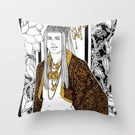 [Caelum Florescens] Cancer Throw Pillow