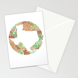 Texas Forever - Earth Stationery Cards