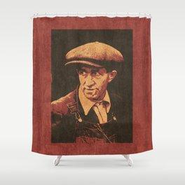 WORKING CLASS HERO / 1938 Gold Miner Shower Curtain