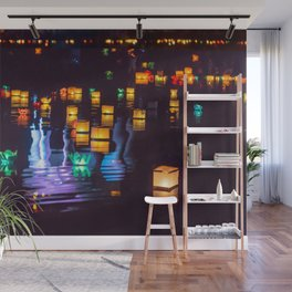Festival of water lights Wall Mural