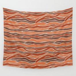 Orange desert Wall Tapestry