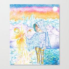 Seeker by Andrew Kaminski Canvas Print