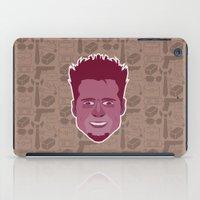 tyler durden iPad Cases featuring Tyler Durden - FightClub by Kuki