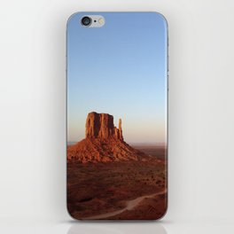 Monument Valley Landscape at Sunset iPhone Skin
