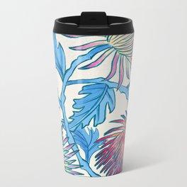 Candied Chrysanthemum Metal Travel Mug