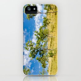 Savannah landscape iPhone Case