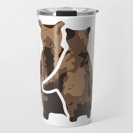BEAR COUPLE Travel Mug