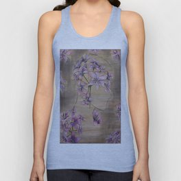 Women of Flora, Claytonia Virginica Unisex Tank Top