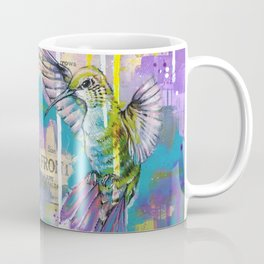 A Hummingbirds Folly Coffee Mug