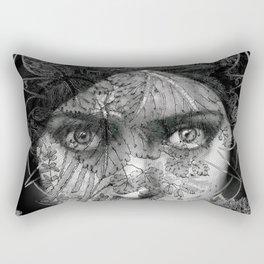 The Eyes of Alchemy Dark Rectangular Pillow