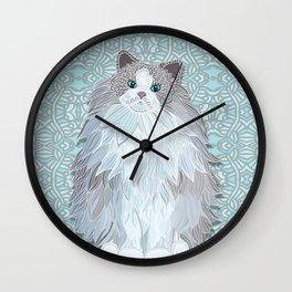 Aurora - Ragdoll Wall Clock