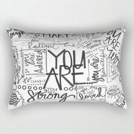 YOU ARE (IV- edition) Rectangular Pillow
