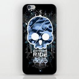 Extreme ride iPhone Skin