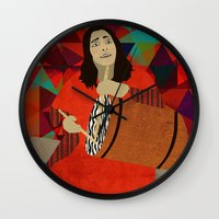 mercedes Wall Clocks featuring Folklore by Design4u Studio
