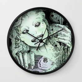 What Dwells in the Deep Wall Clock