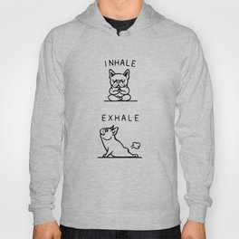 Inhale Exhale Frenchie Hoody
