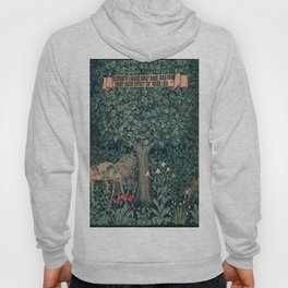William Morris Greenery Tapestry Pt 3 Hoody